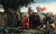 Primer desembarco de Colón