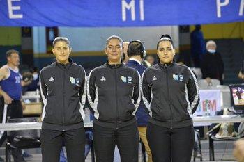 Aline García, Vivian García y Valentina Dorrego: terna histórica