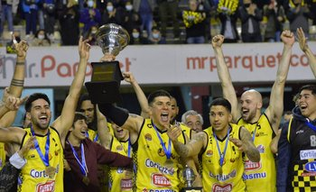 ¡Larre Borges campeón!