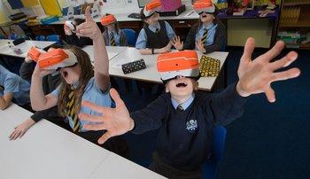 La realidad virtual aumenta la retención de los estudiantes.