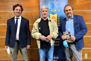 Ignacio Alonso, Ariel Longo y Jorge Casales
