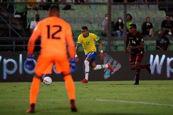 Raphinha, el delantero que jugará contra Uruguay