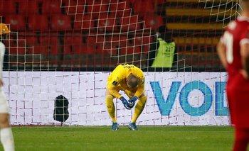 Predrag Rajkovic se lamenta de un grueso error ante Azerbaiyán