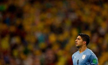 Luis Suárez convirtió el único gol de Uruguay en 270 minutos en esta triple fecha de Eliminatorias de octubre