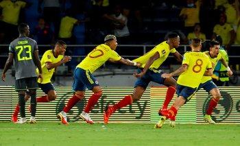 La alegría colombiana duró poco