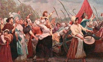 Los Días de Octubre o La Marcha de Octubre, cuando las mujeres marcharon hasta el palacio de Versalles.