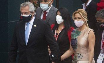La primera dama argentina está embarazada