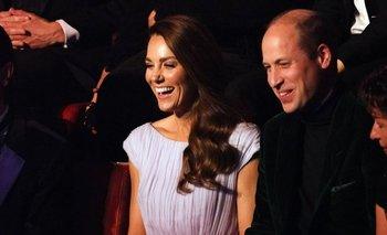 El duque y la duquesa de Cambridge asisten a la primera ceremonia de entrega del premio Earthshot, celebrada en Londres.