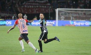 El gol de Sebastián Viera en Junior de Barranquilla