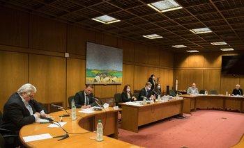 La comisión investigadora recibió a Daniel Reta