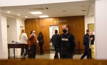 Las audiencias comenzaron este lunes en el Palacio de los Tribunales, en el Centro de Montevideo