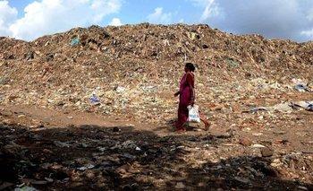 En el vertedero de Deonar hay más de 16 millones de toneladas de basura