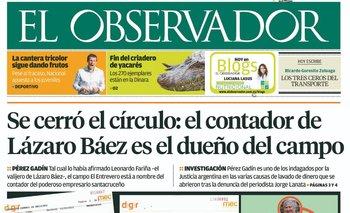 """Nota de El Observador: """"Se cerró el círculo"""""""