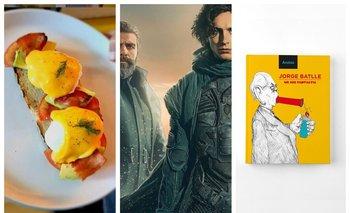 Gastronomía, cine y libros, entre los destacados del Picnic de hoy