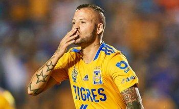 Nicolás López volvió al gol en Tigres de México