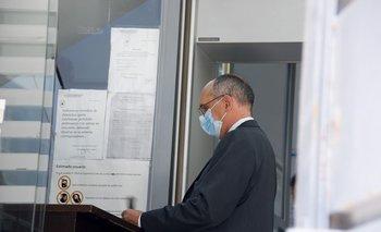 El expresidente de UTE compareció ante el fiscal Luis Pacheco