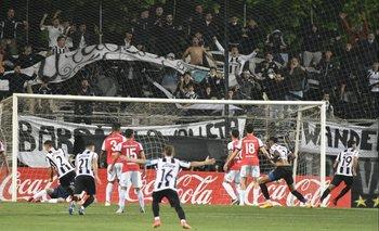 El gol de Wanderers