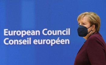 Merkel durante su última cumbre europea