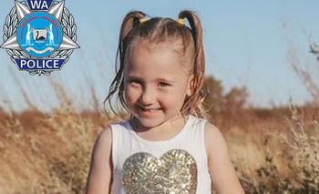 Cleo Smith, de 4 años, está desaparecida desde el sábado