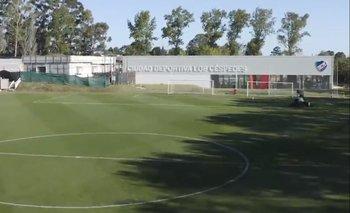 Los Céspedes sigue creciendo con su Ciudad Deportiva y las canchas están muy bien cuidadas