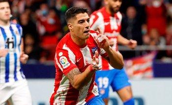 Luis Suárez celebró un nuevo doblete, esta vez, ante Real Sociedad