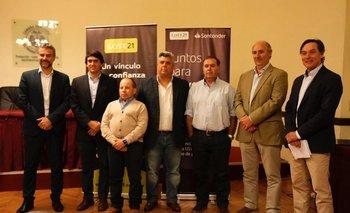 Lote 21 anunció que Valdez y Cía se une al consorcio, en una conferencia en la Cámara Mercantil de productos del país