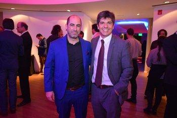 Aldo Alfaro y Francis Coates