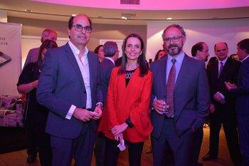 Alejandro Palleiro, Cecilia Di Carlo y Oscar Klein