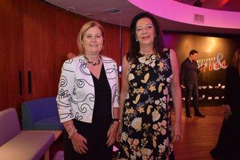 Alexandra Morgan y Patricia Lussich