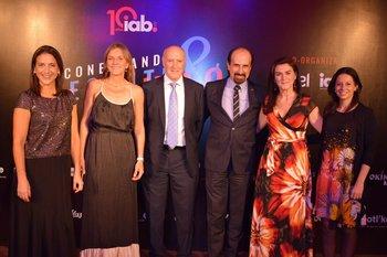 Carina Novarese, Erika Hoffman, Roberto Lafluf, Eduardo Hipogrosso, Natalia Moris y Virginia Marotta