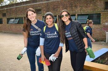Sofia Ardao, Cecilia Márquez y Patricia Rivero