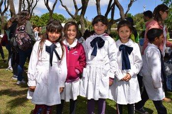 Mia Almada, francisca Ferrer, Valentina Dos Reis y Zaira Cabrera