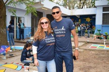 Virginia Rico y Alexis Ayarza
