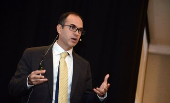 Guillermo Tolosa durante la conferencia realizada este jueves.
