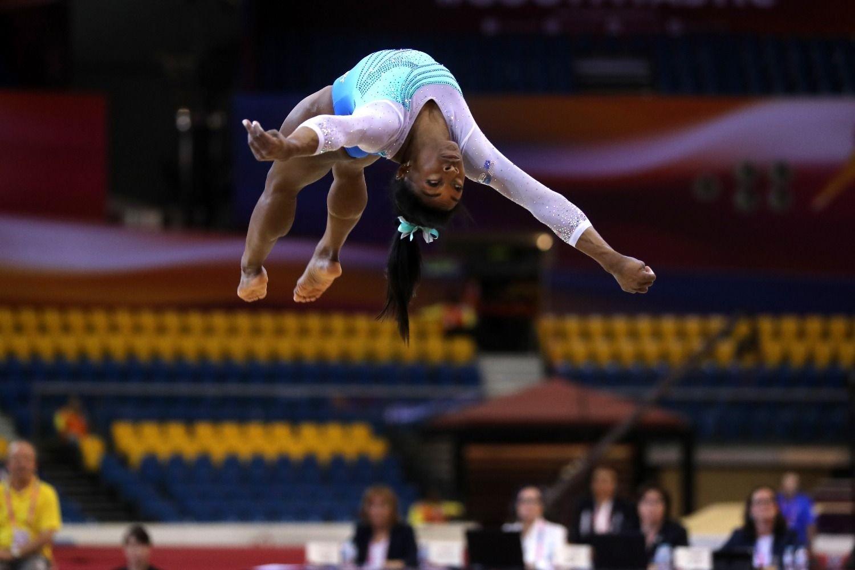 [Video] Simone Biles confirma que es la reina de la gimnasia artística