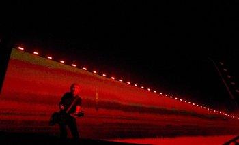 Roger Waters tocó el sábado en el Estadio Centenario