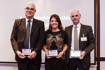 Adolfo Sommer, Fernanda Ariceta y Guillermo Pons