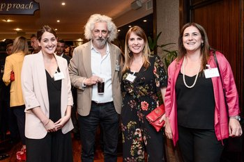Virginia Méndez, Gustavo Rubinsztejn, Natalia Cambón y Ximena Fernández