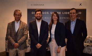 Martín Gómez Platero, Diego Wollheim, Ana Inés Maranges y Enrique Baliño