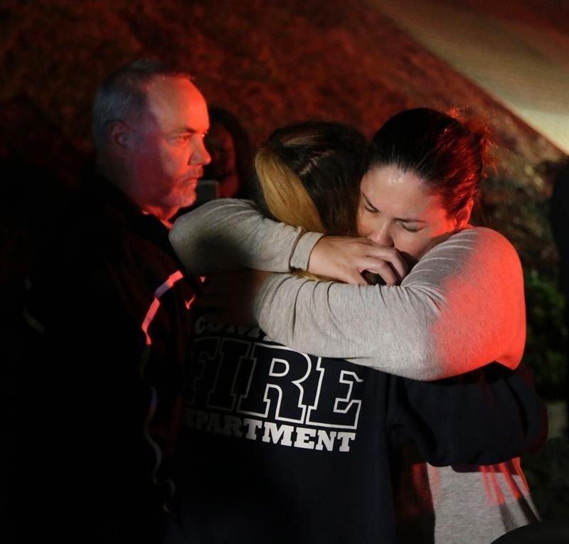 Trump destaca gran valentía de la Policía ante el tiroteo en California