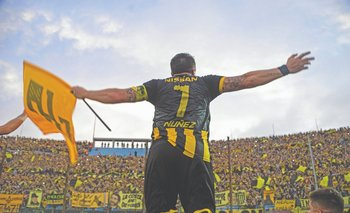 El Cebolla y la hinchada de Peñarol