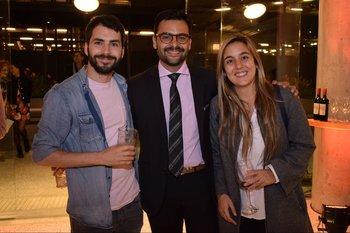 Rodrigo Lagomarsino,José Lima y Coti Pereyra