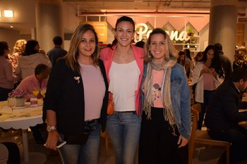 Vichu Monegal, Stefi Rauhut y Marian López