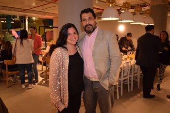 Juliana Marchesini y Miguel Ribeiro