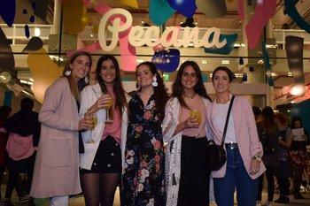 Mikaela Barbieri,Pilar Fernández,Sofia Muñoz, Cecilia Giambruno y Magdalena O