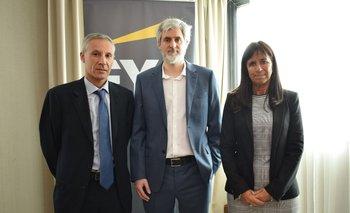 Alejandro Brandoni, Felipe Quintela y Martha Roca