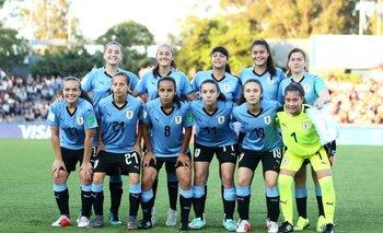 El once inicial de Uruguay en el Mundial sub 17 femenino