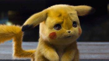 Pikachu en su nueva versión: como un muñeco de peluche que además tiene habilidades de detectives.