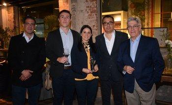 Sebastian Rodríguez, Cristobal Vega,Verónica Monteverde,Omar Ichuste y Eduardo Lanza