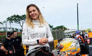 Sophia Florsch, la piloto accidentada en la Fórmula 3 de Macao